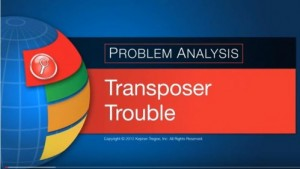 Transposer Trouble